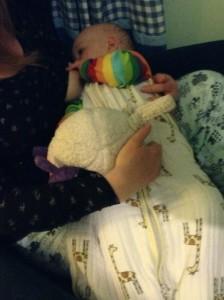 lara breastfeeding