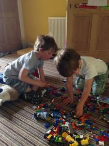 lego playing
